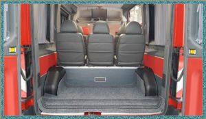 Форд Транзит красный багажное отделение